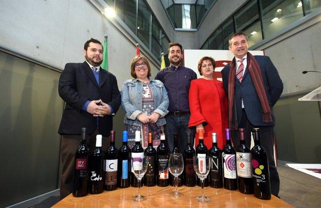 Presentación de la novena feria Primavera y Vino de Guadix