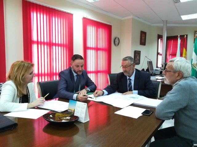 La Junta Y Ayuntamiento De Albox Firman Un Acuerdo