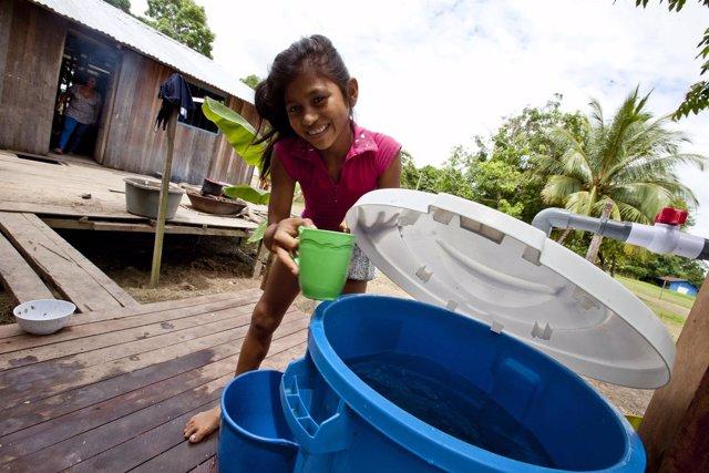 Acceso agua Fundación Aquae