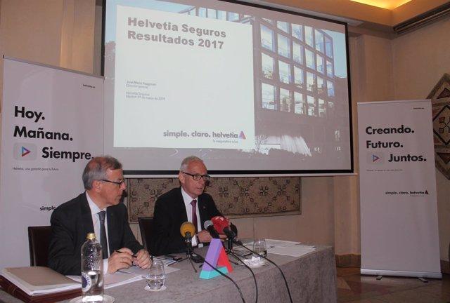 Presentación de resultados de Helvetia Seguros