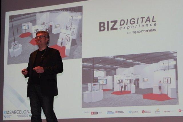 Presentación de la octava edición del salón Bizbarcelona