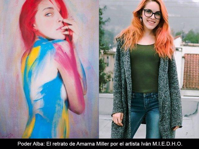 Amarna Miller es protagonista esta primavera 2018