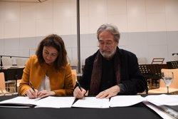 Jordi Savall acorda amb Sant Cugat difondre la música clàssica i antiga (AYTO.SANT CUGAT DEL VALLÈS)