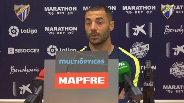 Mehdi Lacen, jugador del Málaga