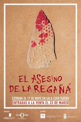 La obra 'El asesino de la regañá' llega a Sala Cero Teatro
