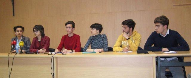 Alumnos de 2º de Bachillerato de Valladolid 21-3-2018