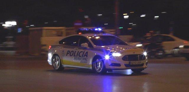Vehículo de Policía Municipal de Madrid