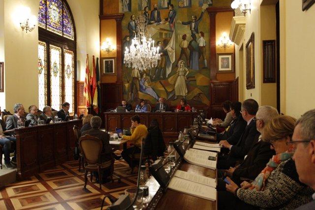 Pleno de la Diputación de Lleida
