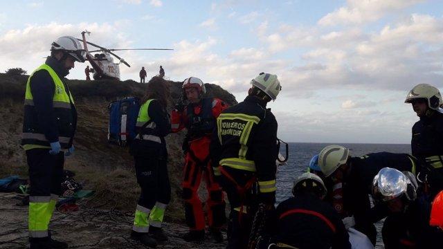 Rescate cuerpo Cabo Menor