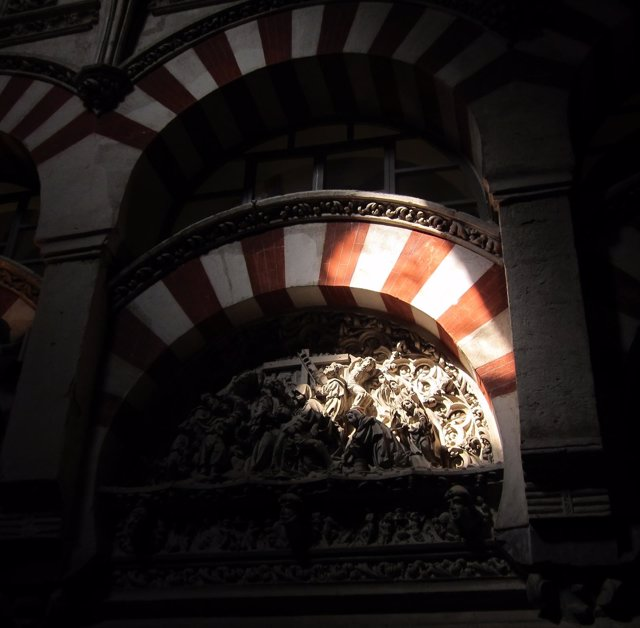 Arcos en el interior de la Mezquita-Catedral de Córdoba