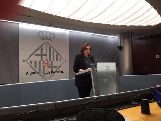 La alcaldesa de Barcelona Ada Colau (Archivo)