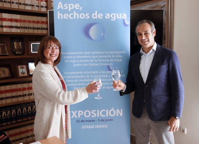 Presentación de la exposición 'Aspe, hechos de agua'