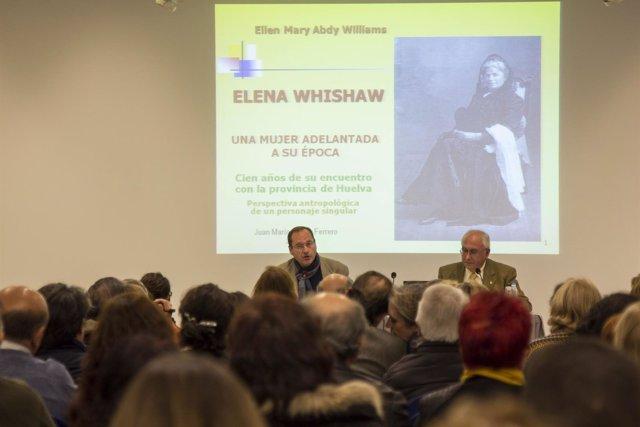 Conferencia en Huelva sobre Elena Whishaw