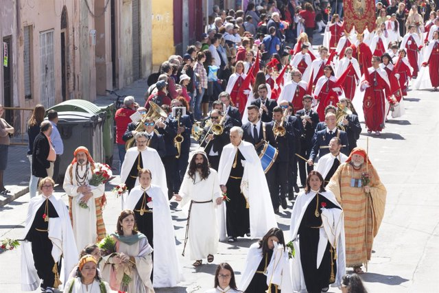 Desfile de Resurrección de la Semana Santa Marinera de Valencia 2015