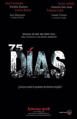 Cartel de la película '75 días'
