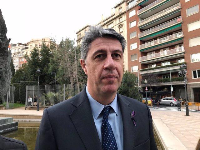 El president del PP català, Xavier García Albiol