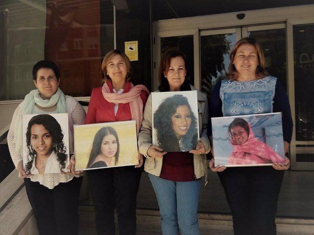 Madres de acogida que denuncian retención de jóvenes saharauis en Tinduf