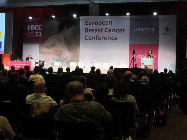 Sesión del XI Congreso Europeo de Cáncer de Mama (EBCC 11)