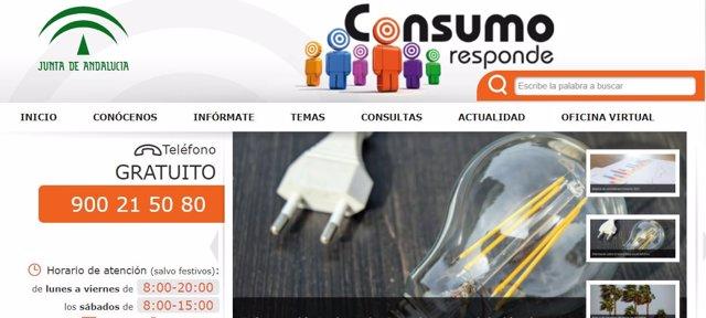 Web de Consumo Responde