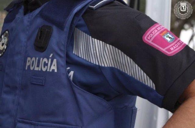 Un agente de Policía Municipal de Madrid