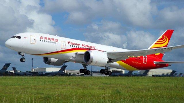 Avión de Hainan Airlines.