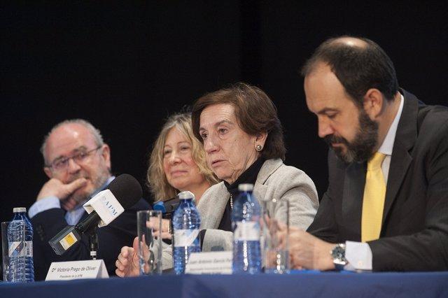 Victoria Prego, presidenta de la APM en 2018