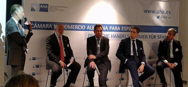 Representantes de compañías alemanas en España