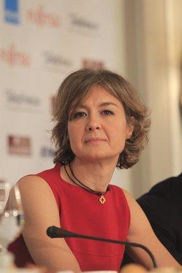 Isabel García Tejerina en una imagen de archivo en los Desayunos de Europa Press