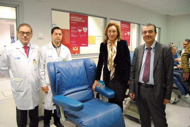 Salud presenta campaña donación sangre
