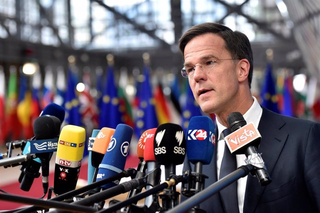 Foto de archivo del primer ministro holandés, Mark Rutte.