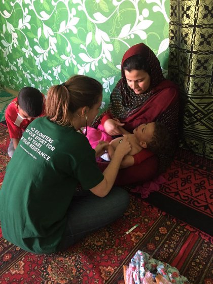 La Fundación SEMG Solidaria organiza una expedición solidaria al Sahara con voluntarios del Servicio Vasco de Salud