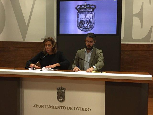 María Ablanedo y Gerardo Antuña