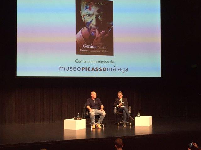 Antonio Banderas Museo Picasso