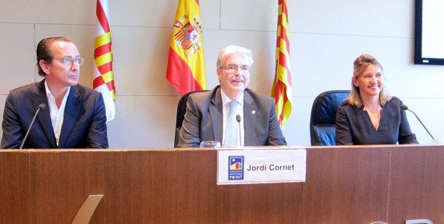 Cornet y Sorigué (CZFB), y Conde (Newland Property Consultants)