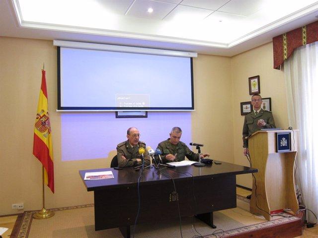 Presentación acto jura bandera en Calahorra