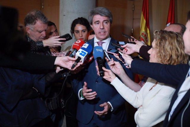El secretario general del PP de Madrid, Ángel Garrido