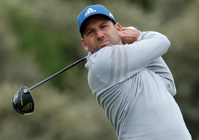 El golfista español Sergio García