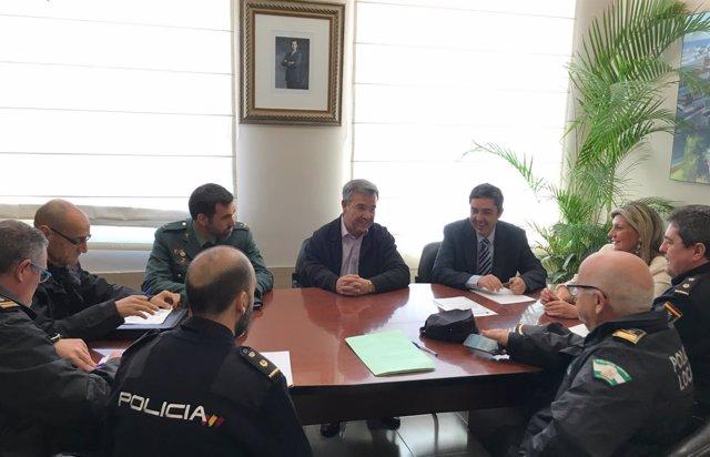 Reunión junta local de seguridad Estepona