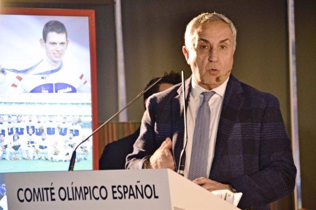 Alejandro Blanco, pesidente del Comité Ilimpico Español