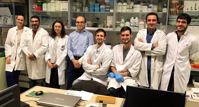 Integrantes del Grupo GUIIAs de la ULE que se encargan de este estudio, 22-3-18