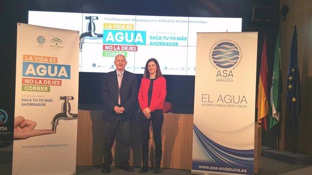 Campaña de ASA y Junta para el consumo responsable del agua