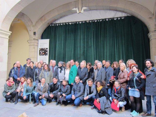 Profesionales del mundo del teatro catalán