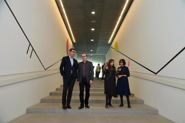 Mimi Ripoll presenta su intervención en el Centre Pompidou