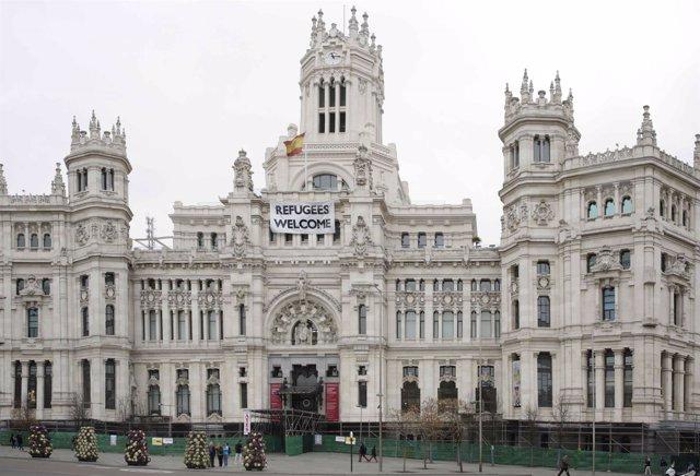 Palacio de Cibeles, Ayuntamiento de Madrid