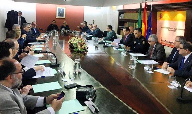 Sanz preside la comisión mixta regional de Seguridad Privada
