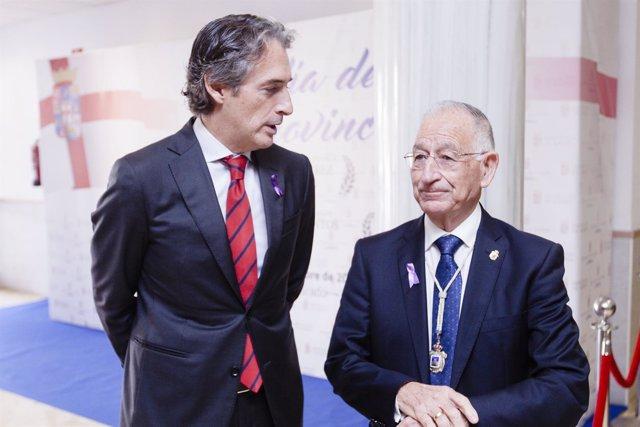 El ministro Íñigo de la Serna recibirá el Escudo de Oro de la Diputación.