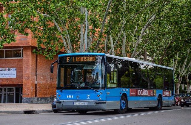 Línea F de EMT Madrid (Ciudad Universitaria)