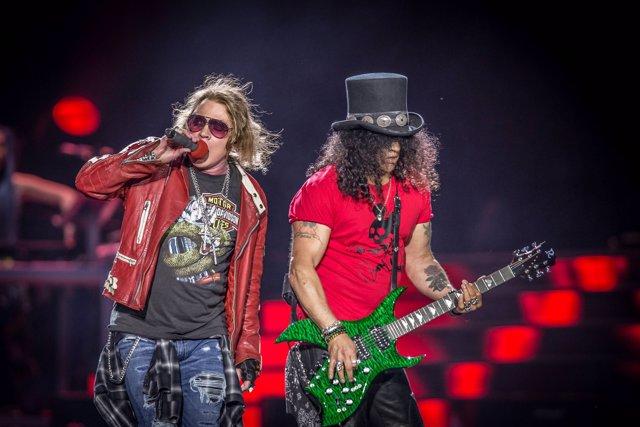 June 2, 2017 - Portugal - Algés, 02/06/2017 - A banda Guns N' Roses de Axl