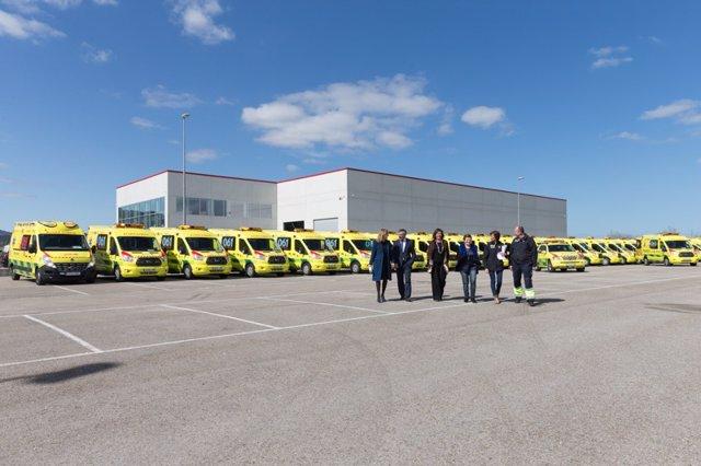Nueva flota de transporte sanitario de Cantabria