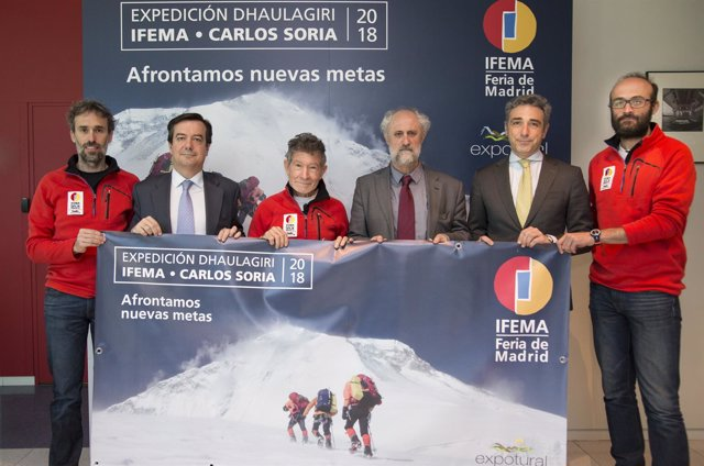 Carlos Soria presenta su expedición al Dhaulagiri